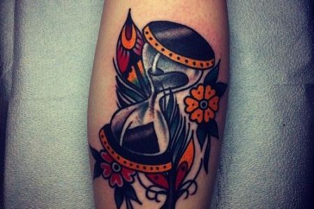 hourgl tattoo 5