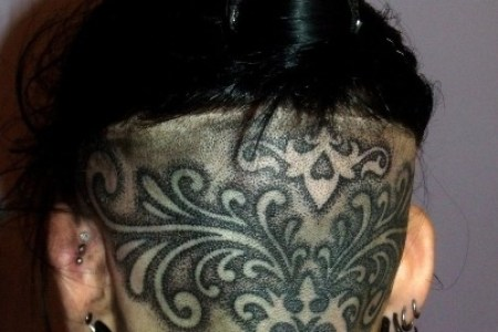 hair tattoo 9