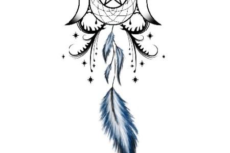 dreamcatcher tattoo designs 9