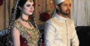 Atif Aslam And Sara Bharwana Wedding Pictures 2013