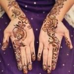 New Stylish Eid Hadn Mehndi Designs 2013 For Girls 02