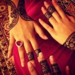 New Stylish Eid Hadn Mehndi Designs 2013 For Girls 10