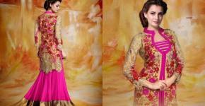 Bollywood Actress Diya Mirza Wedding Dresses 2015 by Bismi Boutique (2)