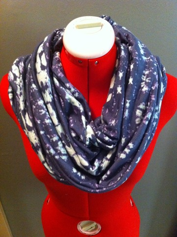 "stamped infinity scarf from Haus of Gem. Yes...it's really called ""Stamped!"""