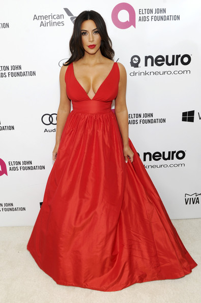 Kim at Aids Foundation Awards in Celia Kritharioti Photo: Dimitrios Kambouris/Getty