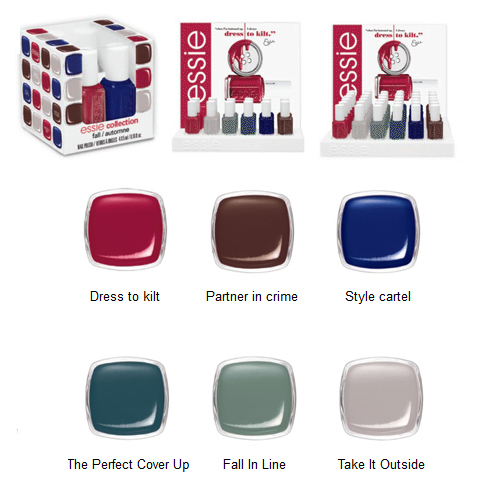 Essie Dress to Kilt Fall 2014 Collection 4