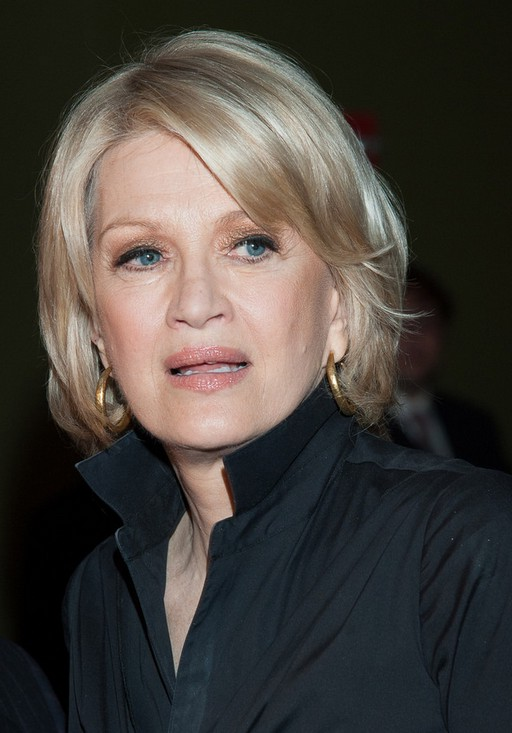 Diane Sawyer Short Bob Hairstyle for Older Women Over 60 ...