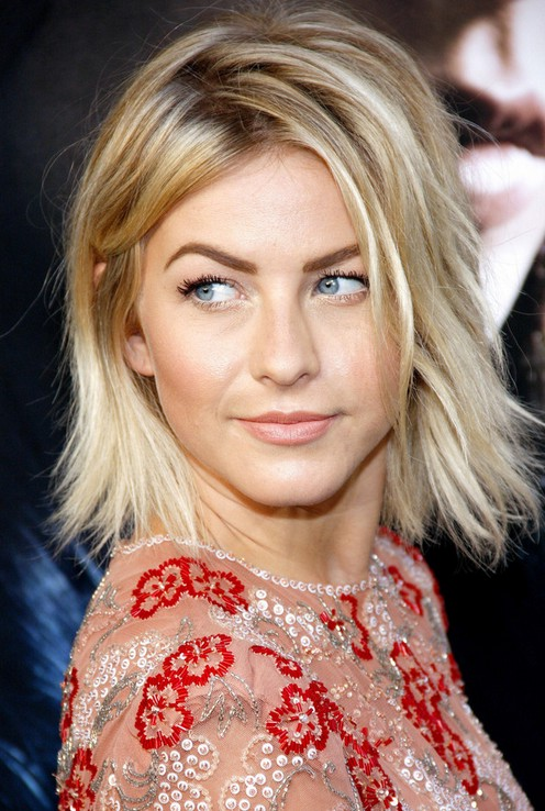 julianne hough short layered choppy