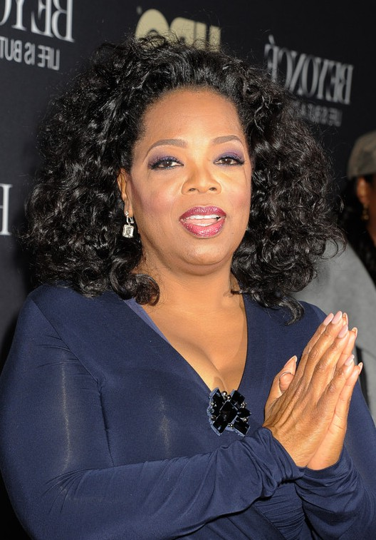 african american naturally curly hairstyle for medium hair from oprah gallery