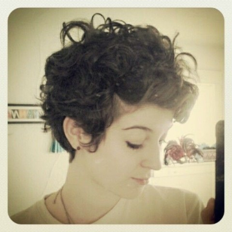 Chic Short Curly Hairstyles for Women and Girls - Pixie Haircut