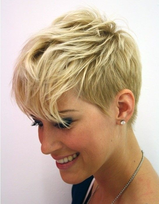 Short Hairstyle Shaved Underneath of 4 by Nancy