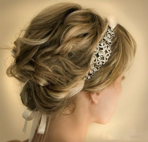 8 swanky wedding updos for short hair  styles weekly