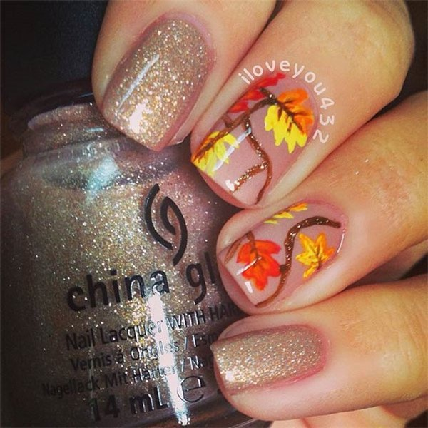 20 Fantastic Nail Designs for Thanksgiving