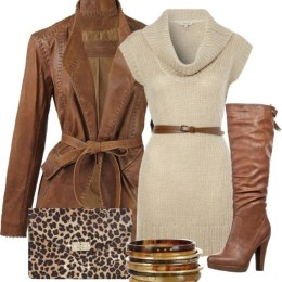 24 Beautiful Winter Dress Looks for Winter