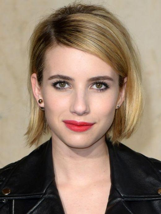 Emma Roberts Bob Haircut
