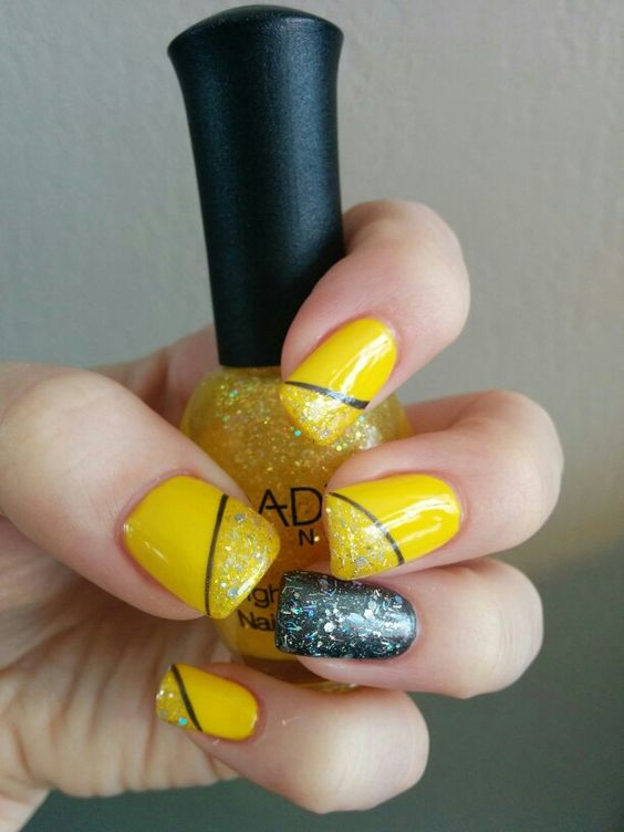 Forum on this topic: 17 Trendy Yellow Nail Art Designs for , 17-trendy-yellow-nail-art-designs-for/
