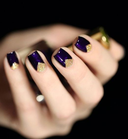 16 Fabulous Purple Nail Designs To Try Crazyforus