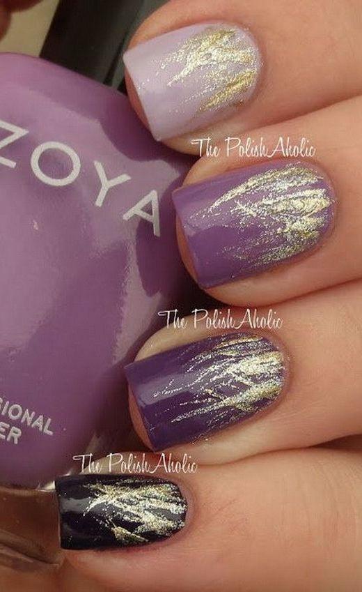 16 fabulous purple nail designs to try crazyforus 16 fabulous purple nail designs to try prinsesfo Choice Image