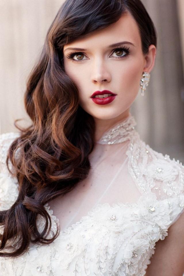 20 lindo nupcial penteado e maquiagem Idéias para 2016