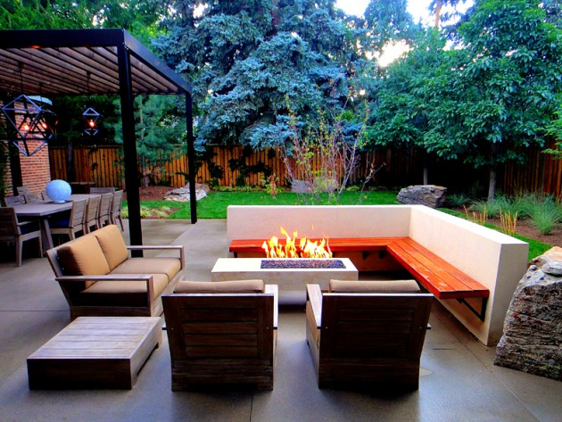 ... Garden Design With Amazing Outdoor Fire Pit Ideas For Your Comfort  Place In House With Backyard