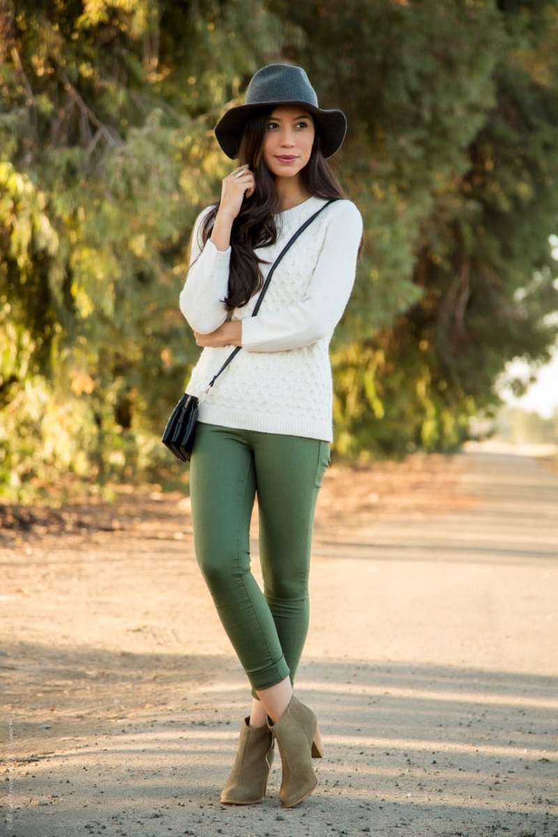 Cool Olive Green Pants This Fall Colors That Go Olive Green