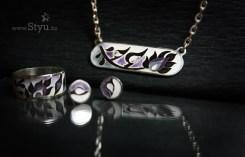 cloisonne jewelry, cloisonne, cloisonne enamel, серебро в Алматы, серебряный комплект с эмалью, серебро и эмаль, эмаль на серебре, серебро в Алматы, минанкари в Алматы, перегородчатая эмаль, серебро орнамент