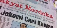 Headline Harian Nasional 30 Januari 2015, Jokowi Cari Kawan