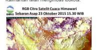 BNPB: Kabut Asap Tipis Mulai Mengimbas Ibukota