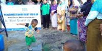 LAZIS DDII Resmikan Sumur di Pelosok Kabupaten Dairi