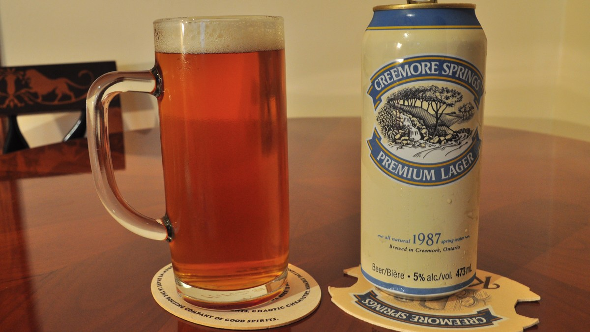 A Legitimate Lager: Creemore Springs