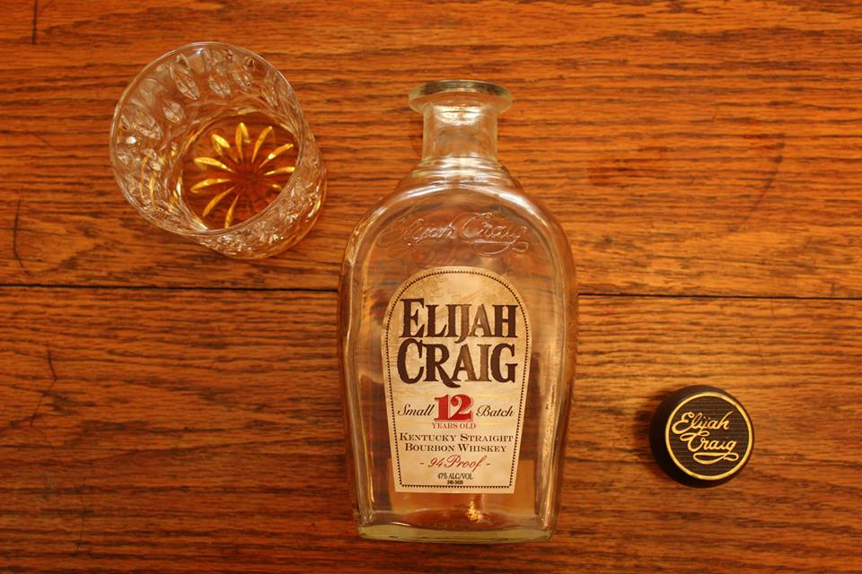 Elijah Craig 12 yr Small Batch: A Most Muscular Bourbon