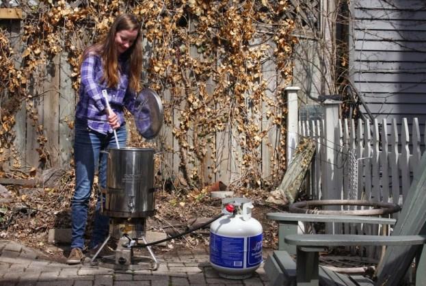 Shannon Howatt Home brewing