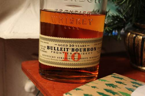 Bottle of the Bulleit 10