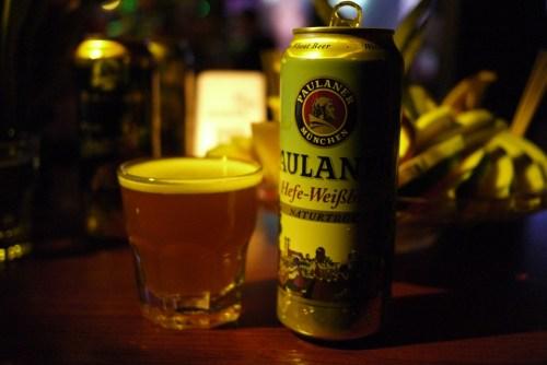 Paulaner, brewed for German Beer Purity Law.