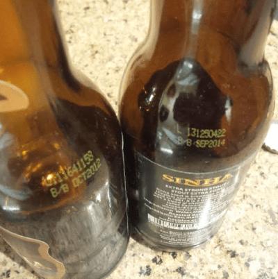 Best Before Date of Aging Beers