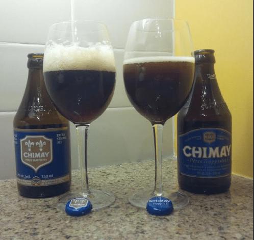 Chimay vs. Chimay aging beers.