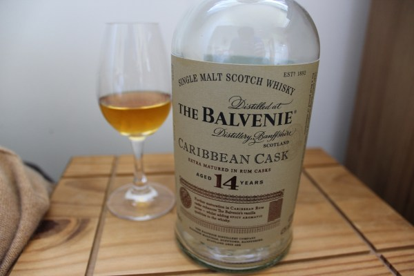 Dram of The Balvenie Caribbean Cask