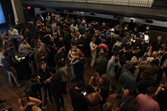 Ontario Brewing Awards crowd