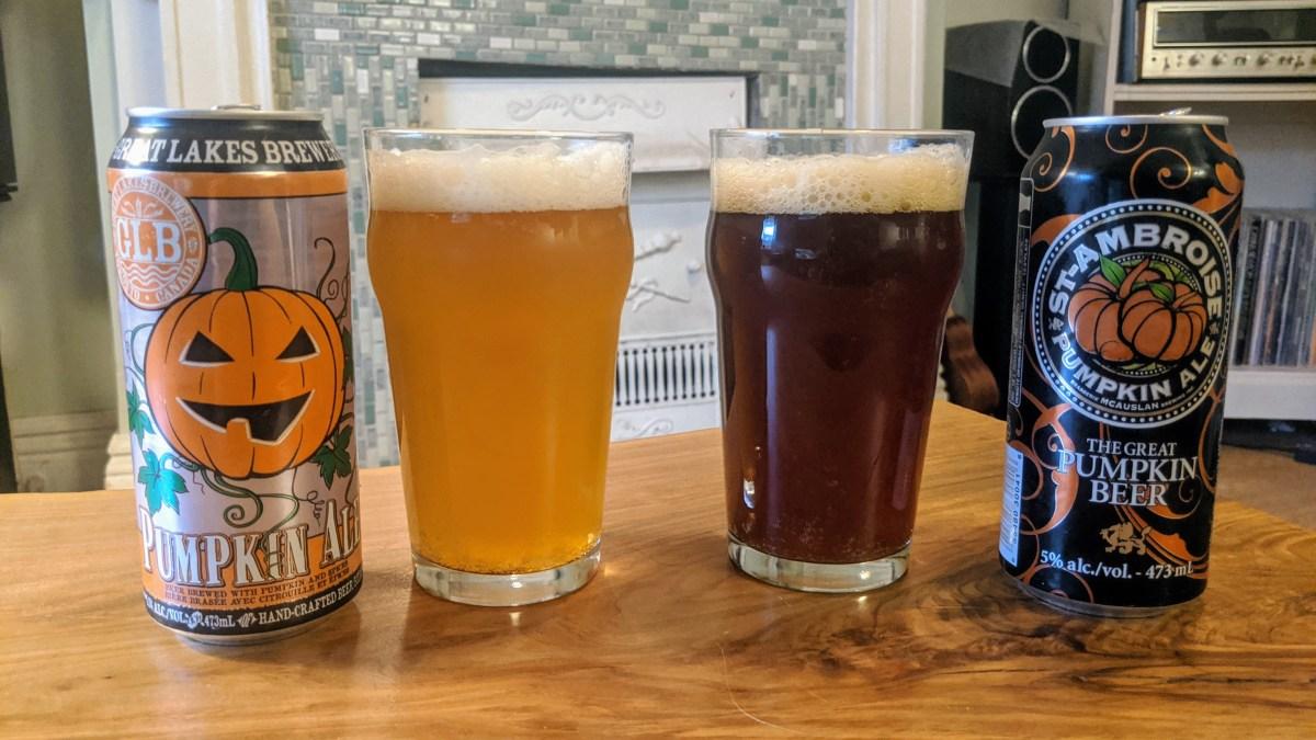 Head to Head: Great Lakes Brewery Pumpkin Ale vs. St. Ambroise Pumpkin Ale