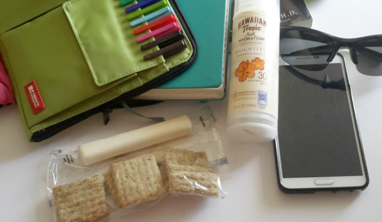 Healthy living on the go—a peek inside my travel bag!