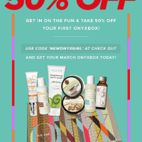 We Are Onyx (Women of Color Subscription) ONYXBOX 50% off First Box Coupon!