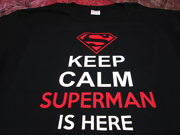 super-man-logo shirt