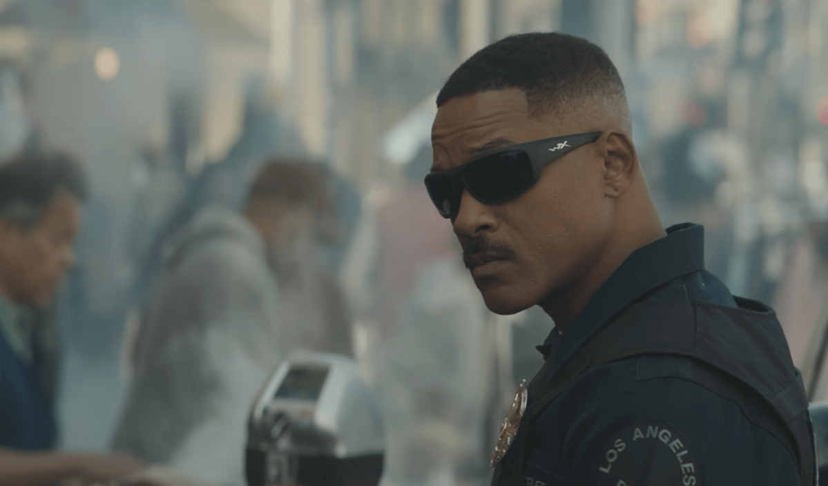 Will Smith dives into the fantasy genre in teaser for 'Bright'