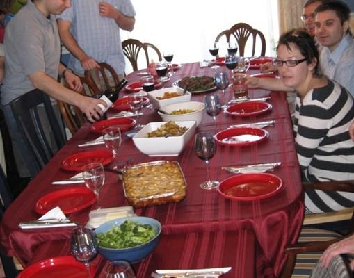Table setting for Zoryana