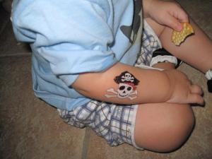 Stick-on Tatoos