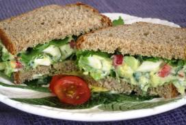 Avocado Egg Salad - light recipe