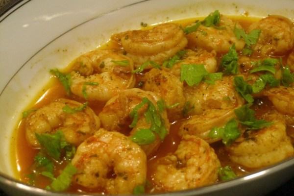Shrimp Paprikash 2