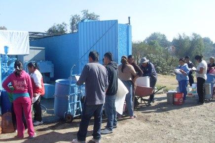 Recuperar el agua de Coyotepec, desafío del Frente Popular