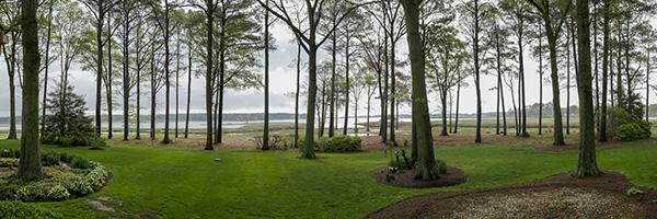 delaware marsh panoramic photo captured with lumix gx8