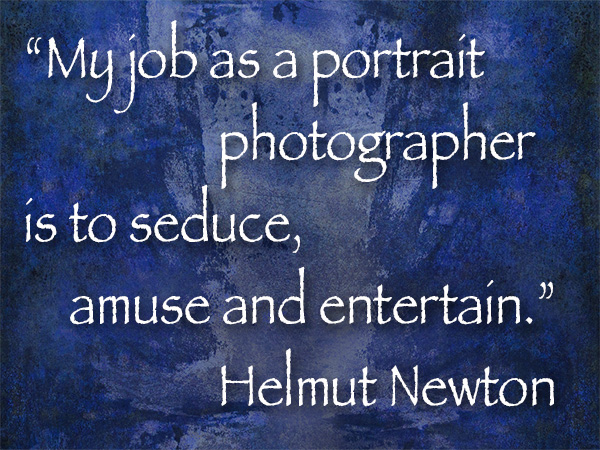 helmut newton quote